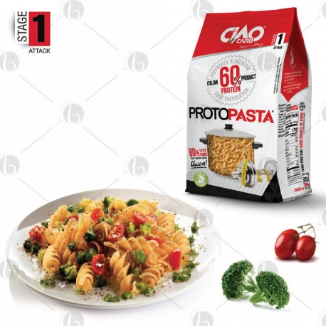 Fusilli Proteici CiaoCarb Stage 1 - 250g (5X50g)