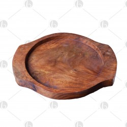 Portapiastra pietra di sale in legno