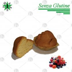 Muffin ai Frutti Rossi Fase 1 - SENZA GLUTINE 4 x 40g