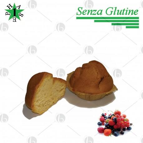 Muffin ai Frutti Rossi Fase 1 - SENZA GLUTINE 4x40g
