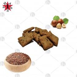 Crackers Proteici ai Semi di Lino e Nocciole Fase 1 Confez. 5 x 45g