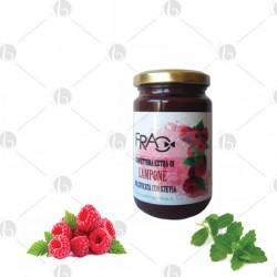 Confettura Extra di Lampone dolcificata con Stevia 210g
