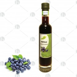 Condimento con mosto d' uva al Mirtillo - 250 ml